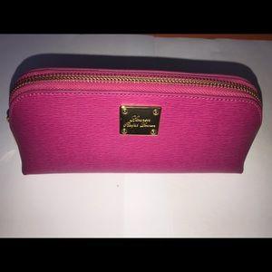 RALPH LAUREN - Triangle Pink Cosmetic Makeup Bag